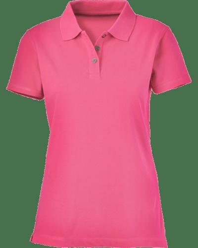 Plain maroon women s polo shirt cutton garments for Baby pink polo shirt