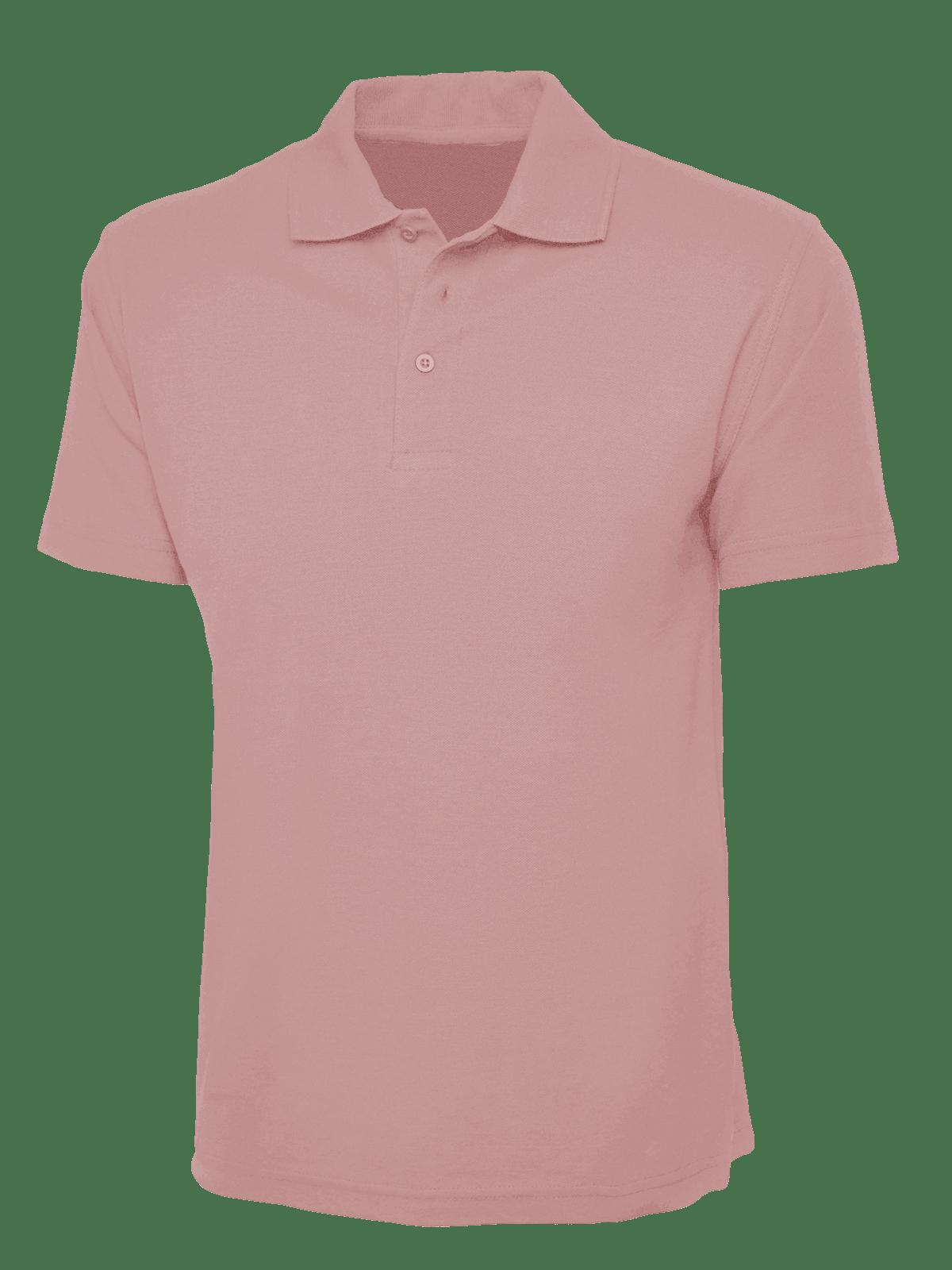 b34b1e00d Plain Baby Pink Polo Shirt – Cutton Garments