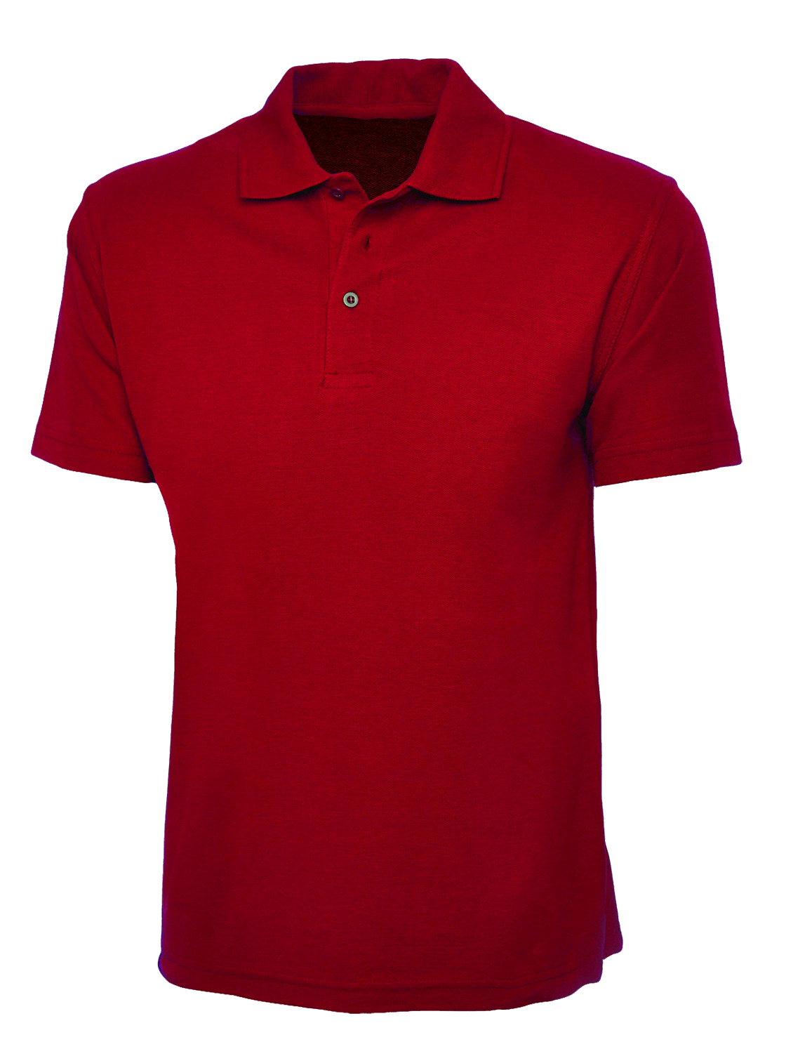 Part of The Official St Andrews Links Tartan Collection this plain red polo shirt made by Donald Ross features the St Andrews Links logo on the left chest in navy. This shirt is made from % Polyester.