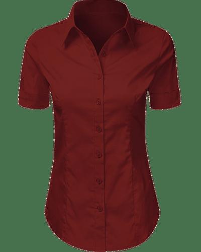 Buttondown Shirt Short Sleeve for Female