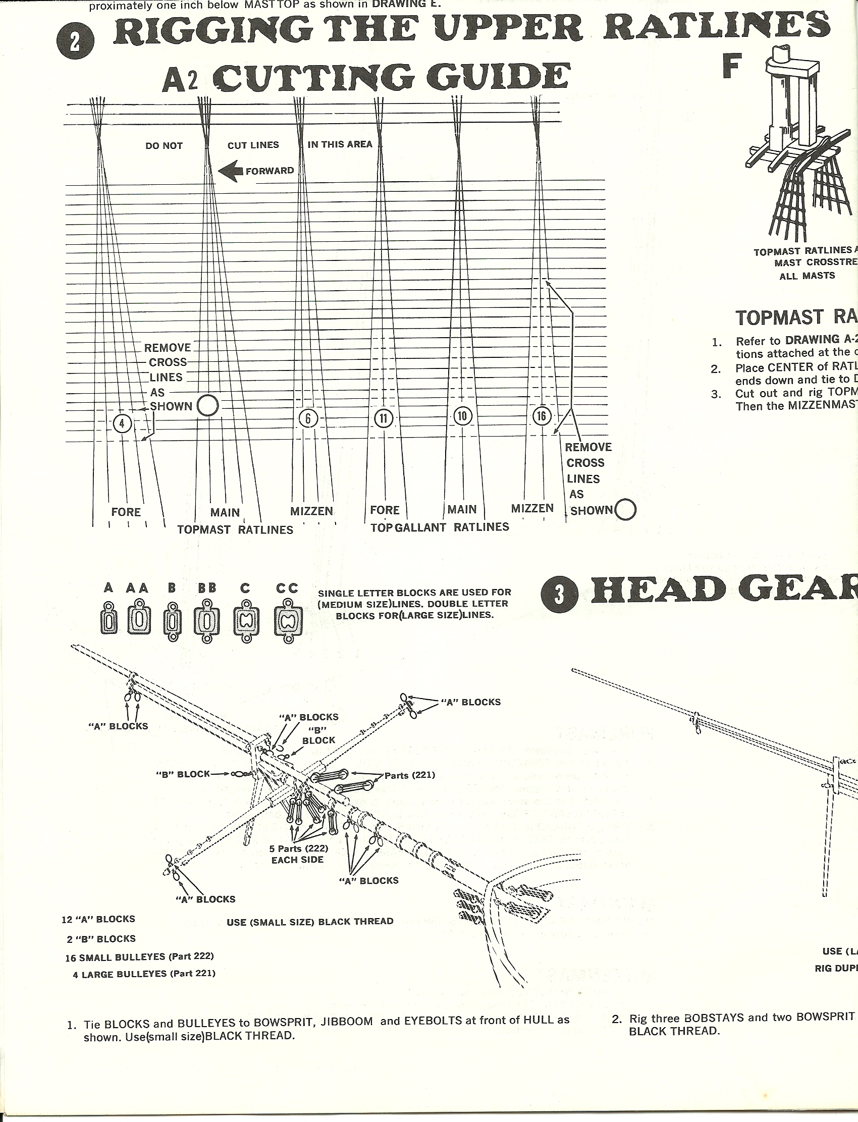 standing rigging diagram 2006 ford escape wiring revell u s united states cutty sark page 2