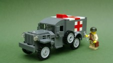 LEGO WW2 Dodge WC54 Ambulance
