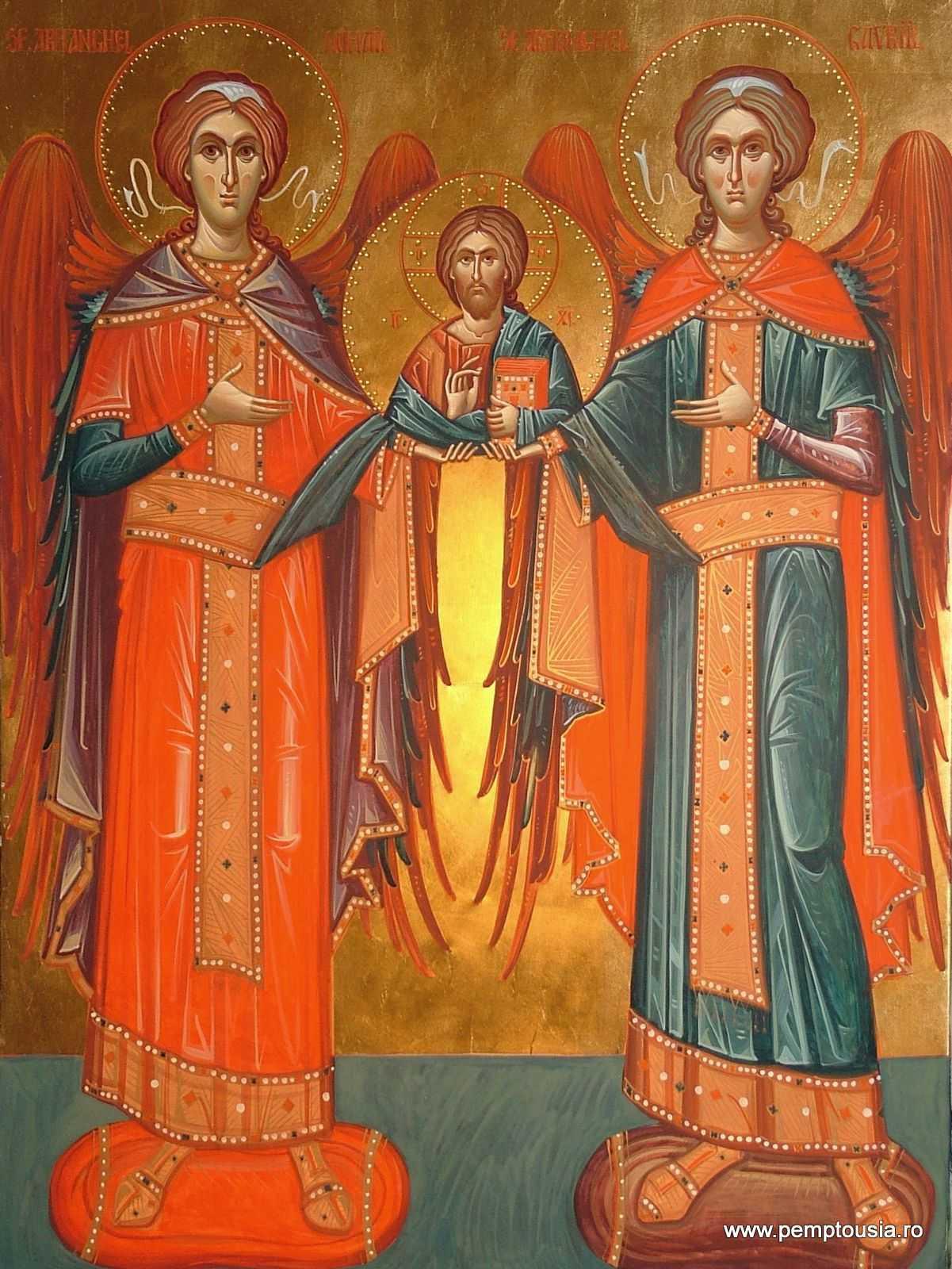 Sfintii Ingeri Si Sfintii Arhangheli Mihail Si Gavriil