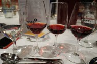 Just a bit of wine at the gala dinner