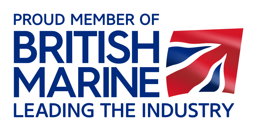 Proud Member of British Marine logo - RGB for web