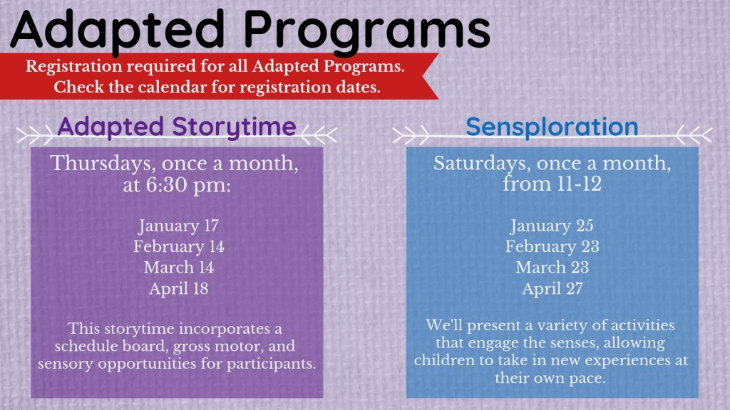 Adapted Programs