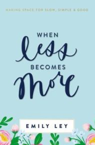 When Less Becomes More -