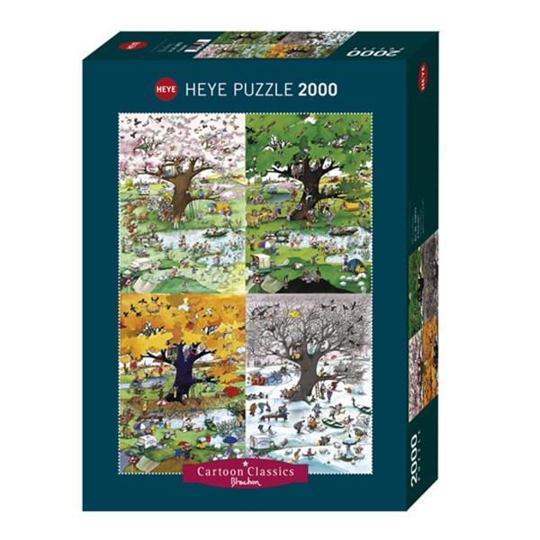 Cuy Games - 2000 PIEZAS - 4 SEASONS -