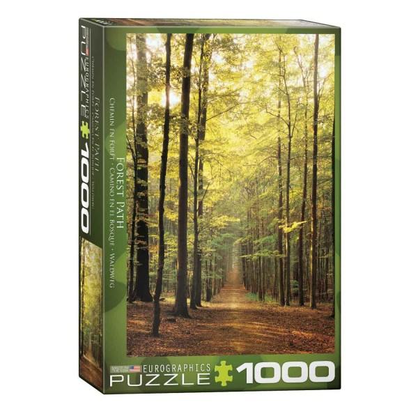 Cuy Games - 1000 PIEZAS - CAMINO EN EL BOSQUE -