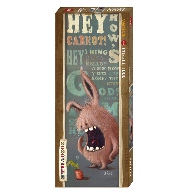 Cuy Games - 1000 PIEZAS - ZOZOVILLE - CARROT -