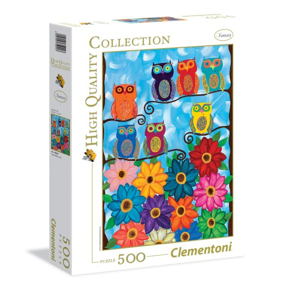 Cuy Games - 500 PIEZAS - CUTE LITTLE OWLS -