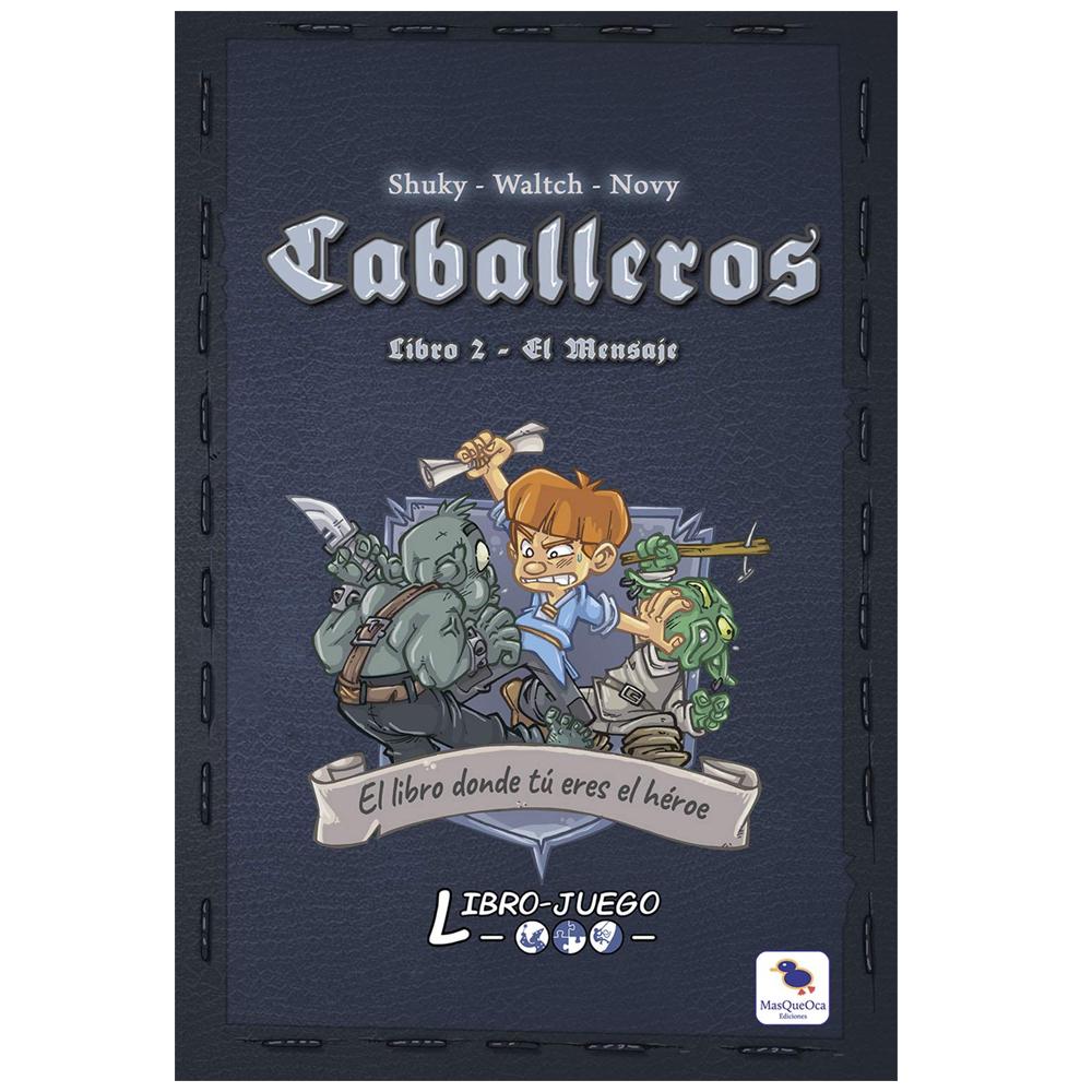 Cuy Games - LIBRO JUEGO: CABALLEROS EL MENSAJE -