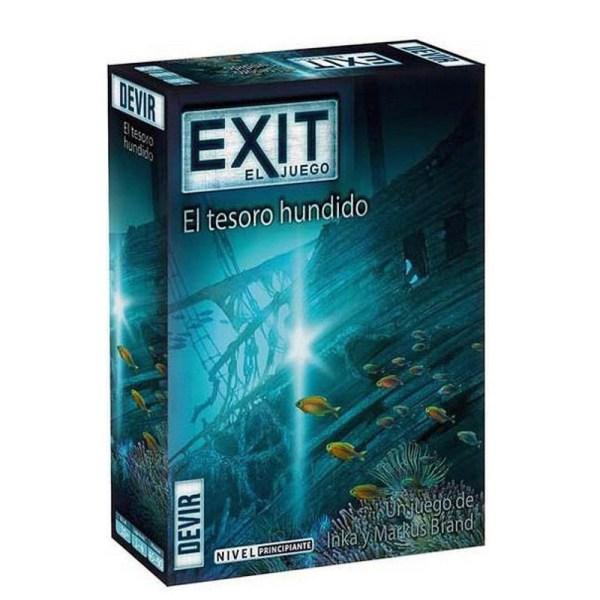 EXIT EL JUEGO – EL TESORO HUNDIDO