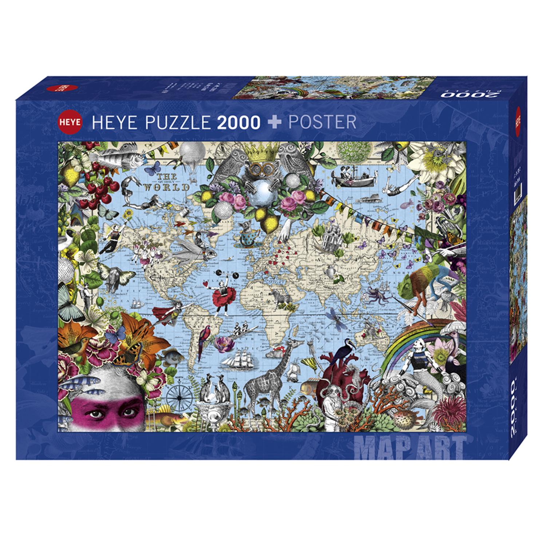 Cuy Games - 2000 PIEZAS - QUIRKY WORLD -