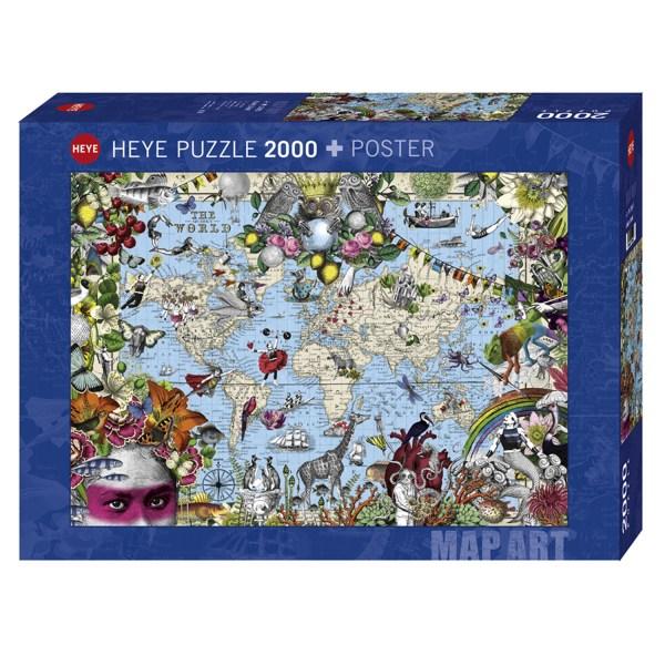 2000 PIEZAS – QUIRKY WORLD