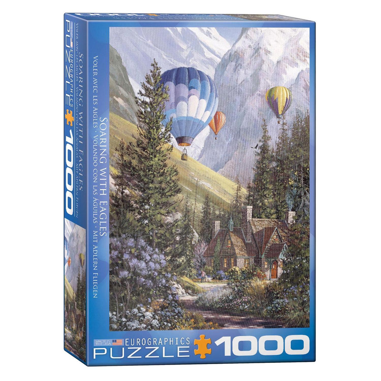 Cuy Games - 1000 PIEZAS - VOLANDO CON LAS AGUILAS -