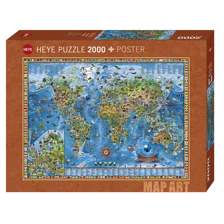 Cuy Games - 2000 PIEZAS - AMAZING WORLD -