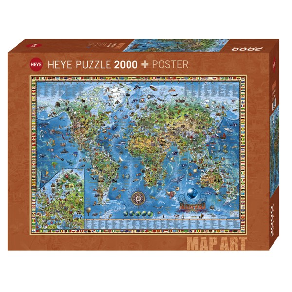 2000 PIEZAS – AMAZING WORLD