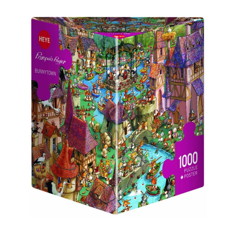 Cuy Games - 1000 PIEZAS - BUNNY TOWN -