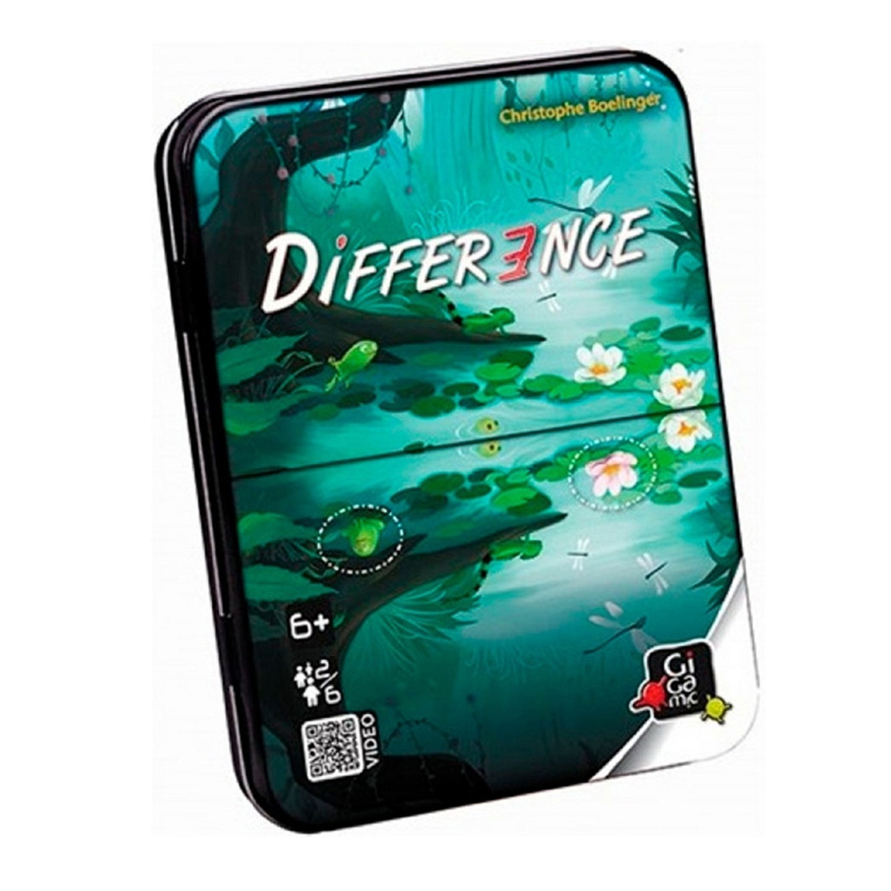 Cuy Games - DIFFERENCE -