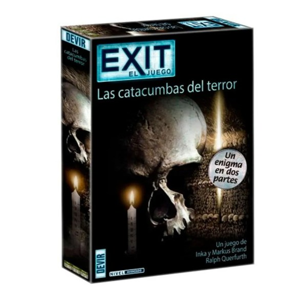 Cuy Games - EXIT EL JUEGO - LAS CATACUMBAS DEL TERROR -