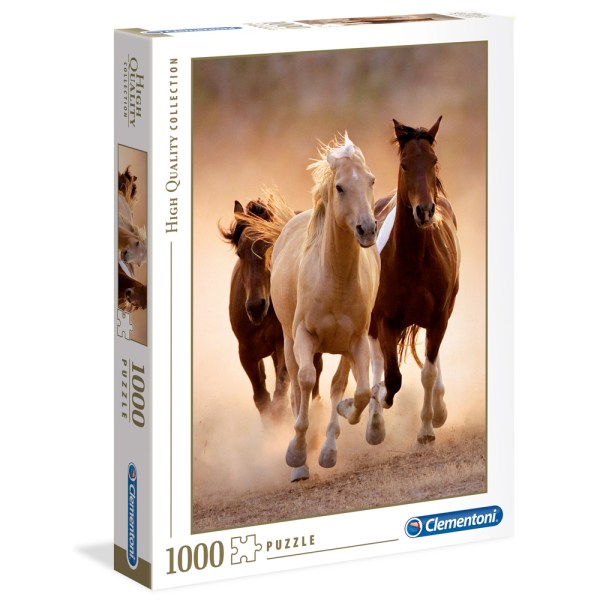Cuy Games - 1000 PIEZAS - RUNNING HORSES -