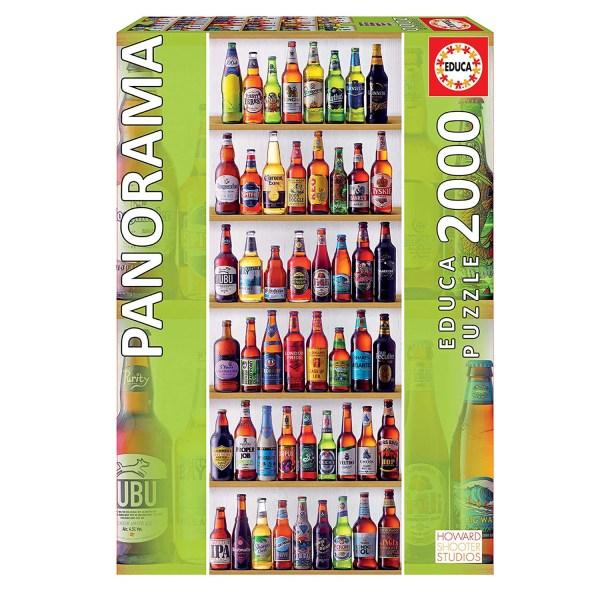 2000 PIEZAS – CERVEZAS DEL MUNDO