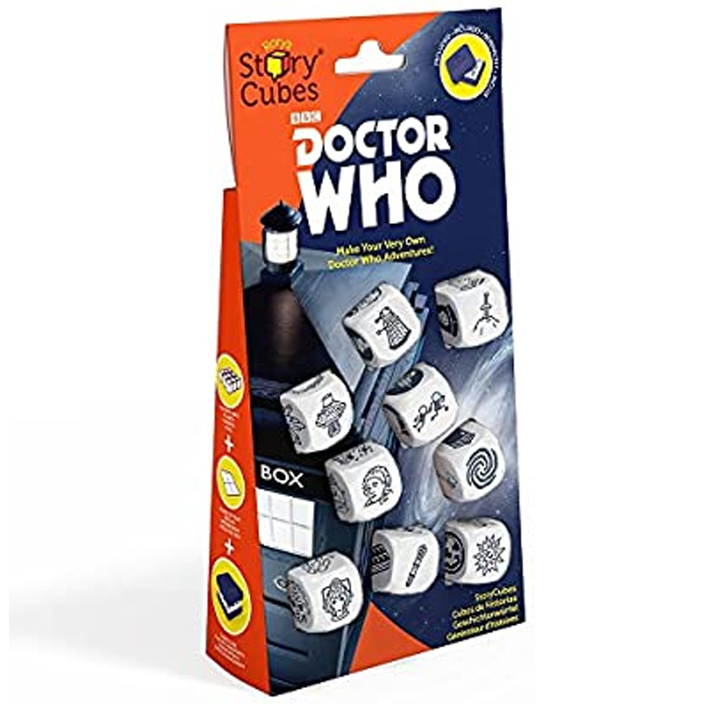 Cuy Games - STORY CUBES - DOCTOR WHO -