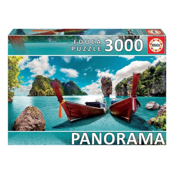 Cuy Games - 3000 PIEZAS - PHUKET, TAILANDIA PANORAMA -