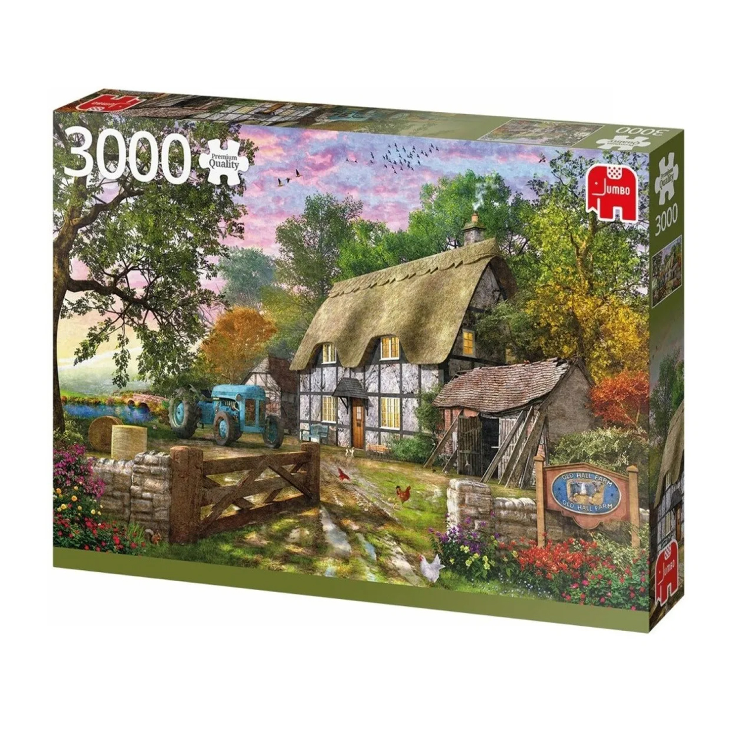 Cuy Games - 3000 PIEZAS - THE FARMERS COTTAGE -