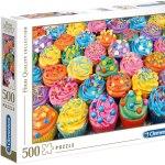 Cuy Games - 500 PIEZAS - COLORFUL CUPCAKES -