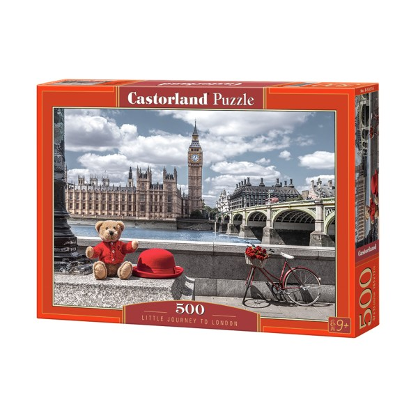 Cuy Games - 500 PIEZAS - LITTLE JOURNEY TO LONDON/LONDRES -