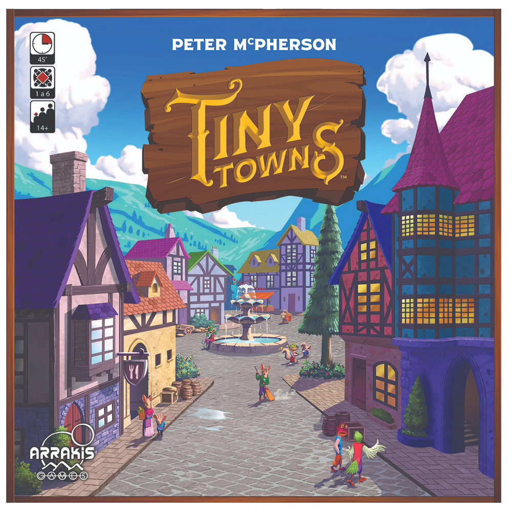 Cuy Games - TINY TOWNS -