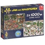 Cuy Games - 2X1 - 1000 PIEZAS - CHRISTMAS DINNER - CHRISTMAS TREE MARKET -
