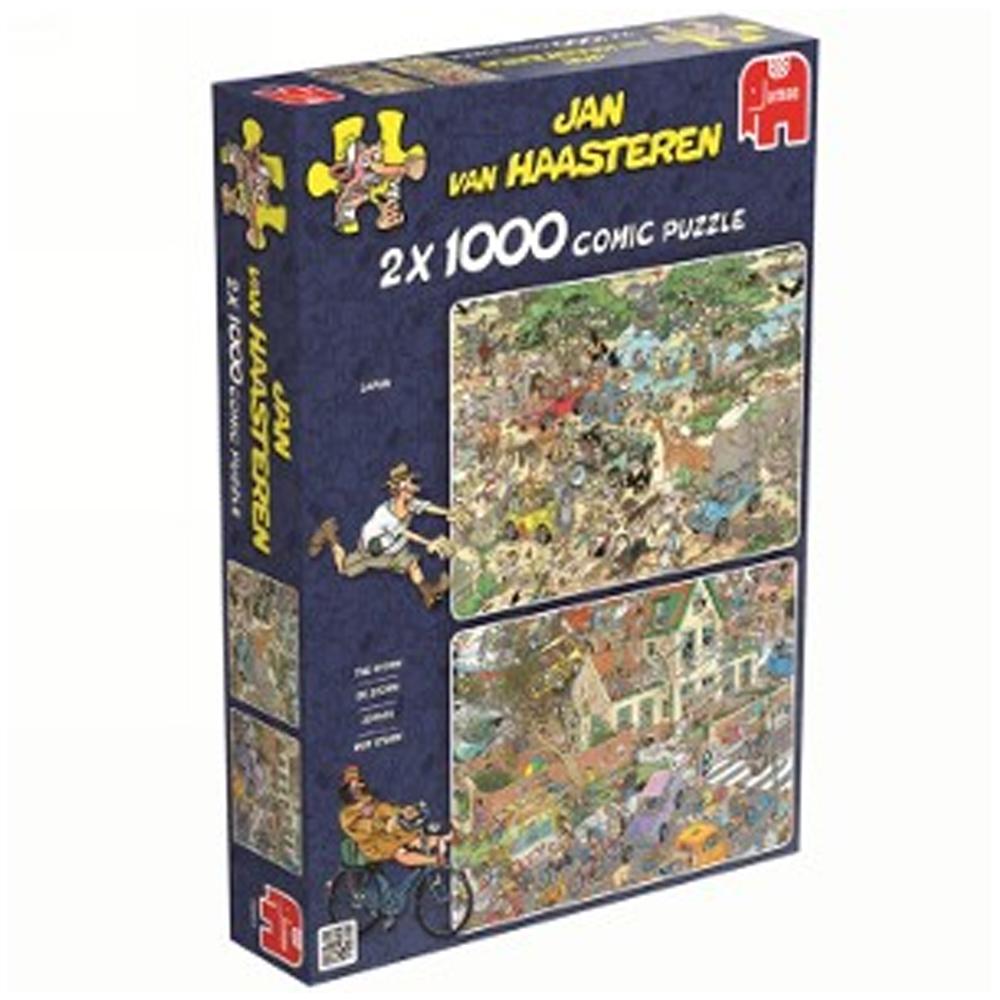 Cuy Games - 2X1 - 1000 PIEZAS - SAFARI - THE STORM -