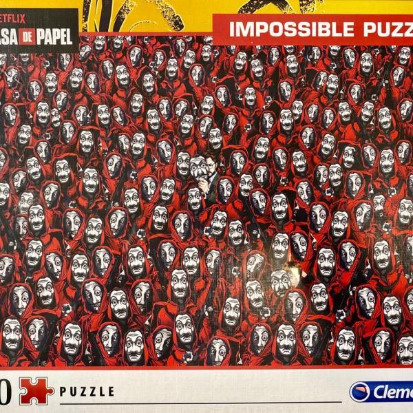 1000 PIEZAS – LA CASA DE PAPEL
