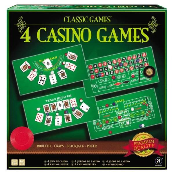 4 CASINO GAMES