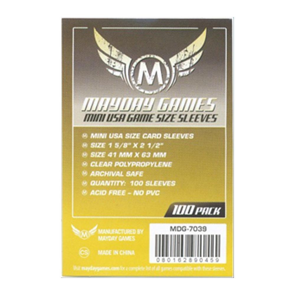 Cuy Games - FUNDA 43MMX65MM MINI CHIMERA 100PACK -