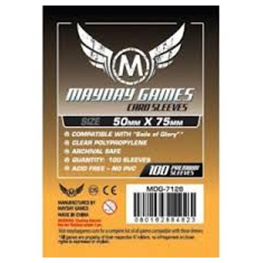 Cuy Games - FUNDA 50MMX75MM 100PACK PREMIUM -