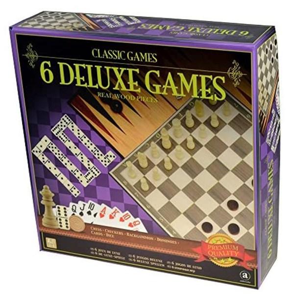 6 DELUXE GAMES – 6 JUEGOS DELUXE