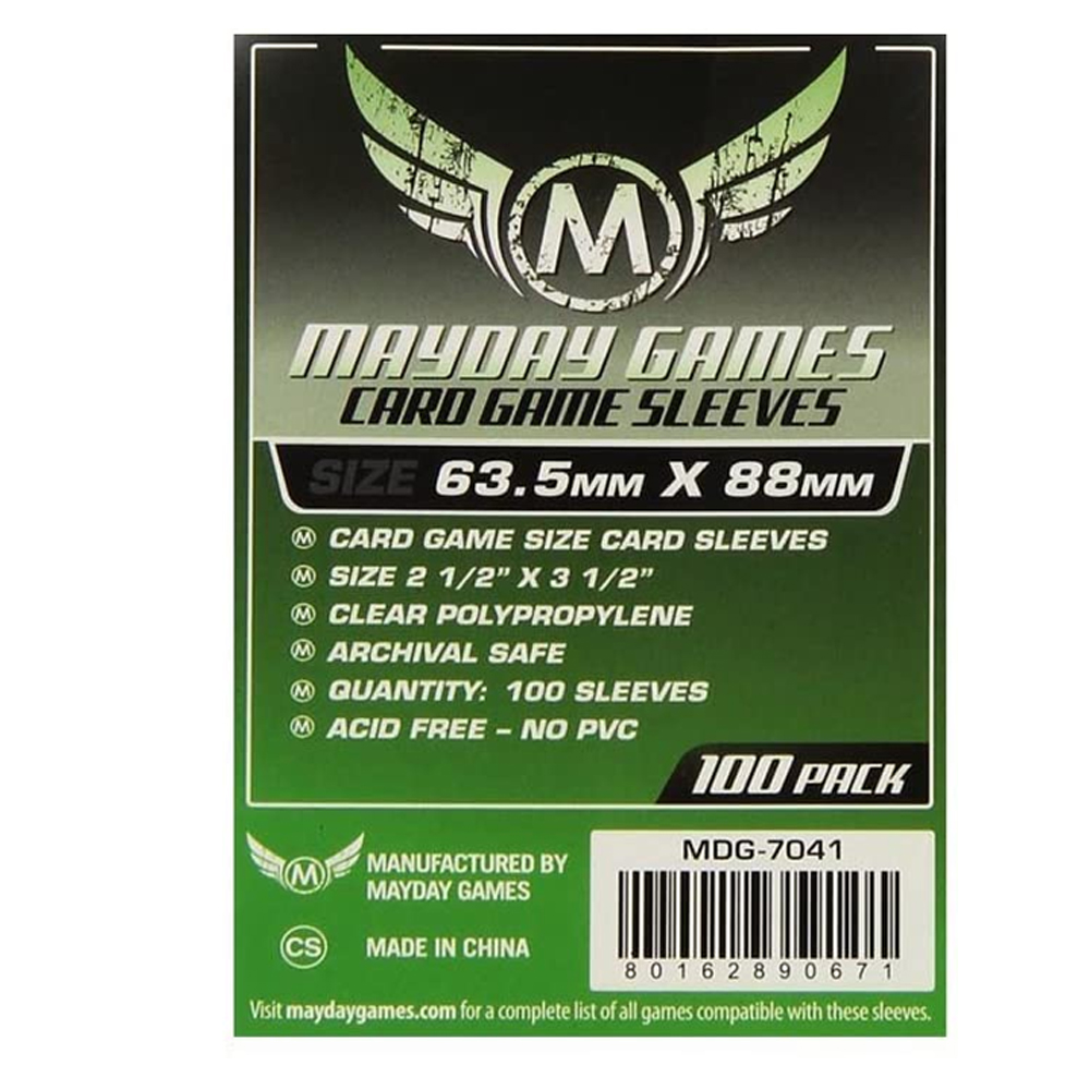 Cuy Games - FUNDA 63.5MMX88MM 100PACK -