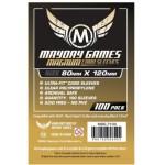 Cuy Games - FUNDA 80MMX120MM 100PACK -