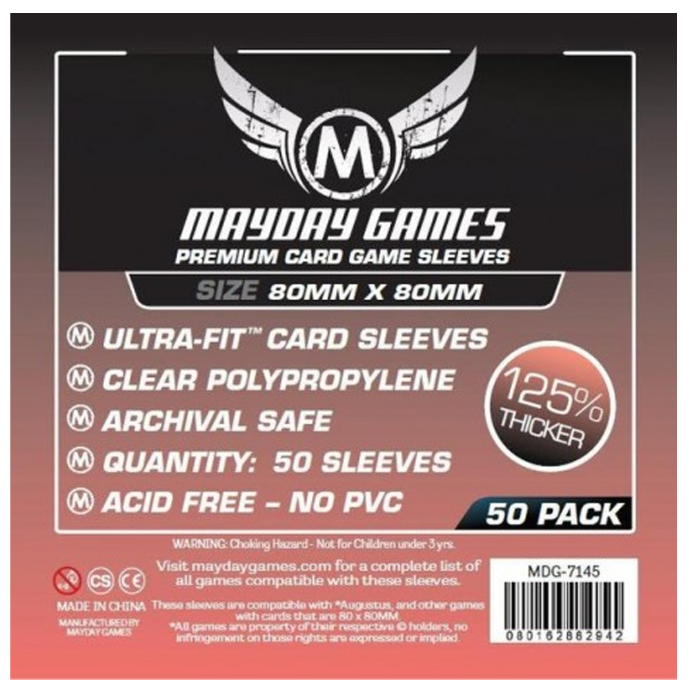 Cuy Games - FUNDA 80MMX80MM 50PACK PREMIUM -