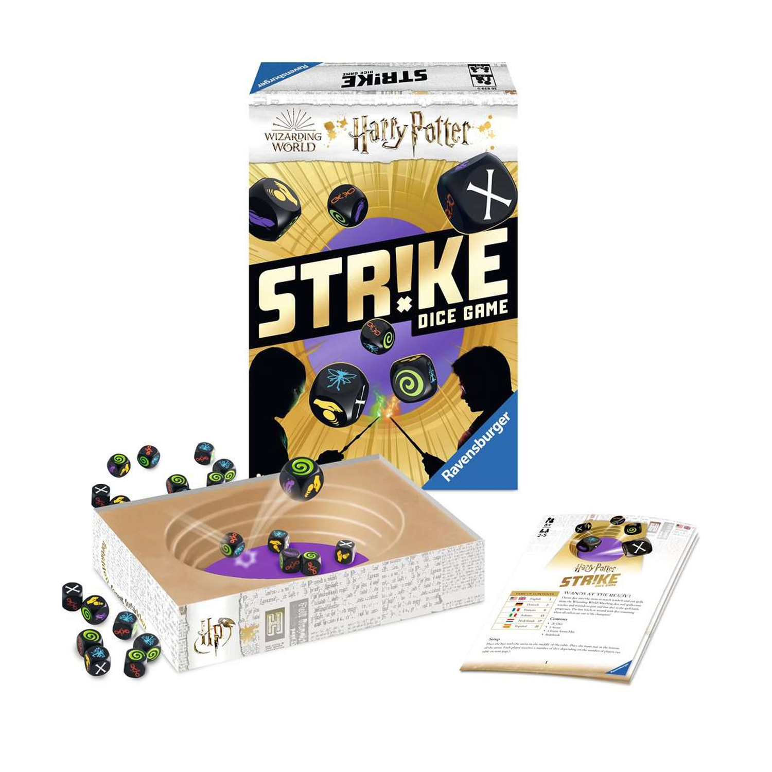 Cuy Games - STRIKE DICE GAME - HARRY POTTER -
