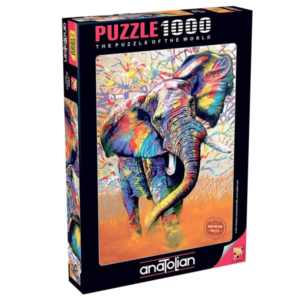 Cuy Games - 1000 PIEZAS - AFRICAN COLOURS -