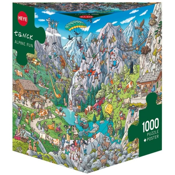 Cuy Games - 1000 PIEZAS - ALPINE FUN -