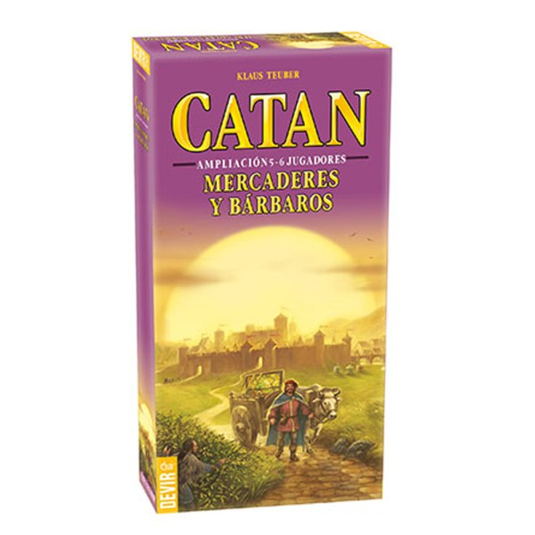 CATAN – AMPLIACION MERCADERES Y BARBAROS