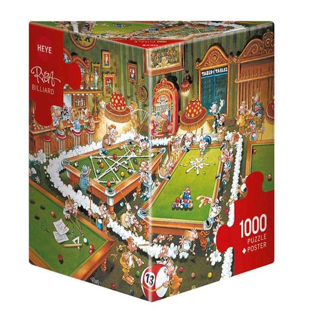 Cuy Games - 1000 PIEZAS - BILLIARD -