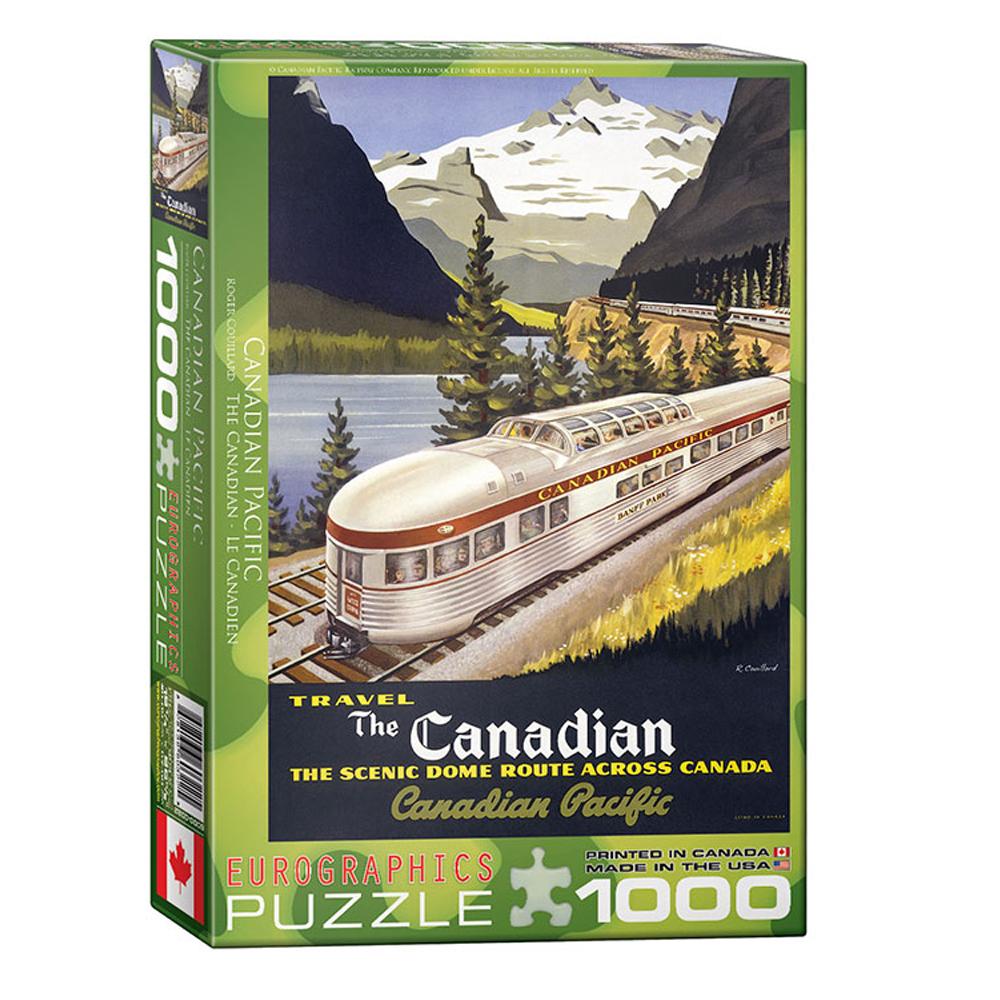 Cuy Games - 1000 PIEZAS - CANADIAN PACIFIC -