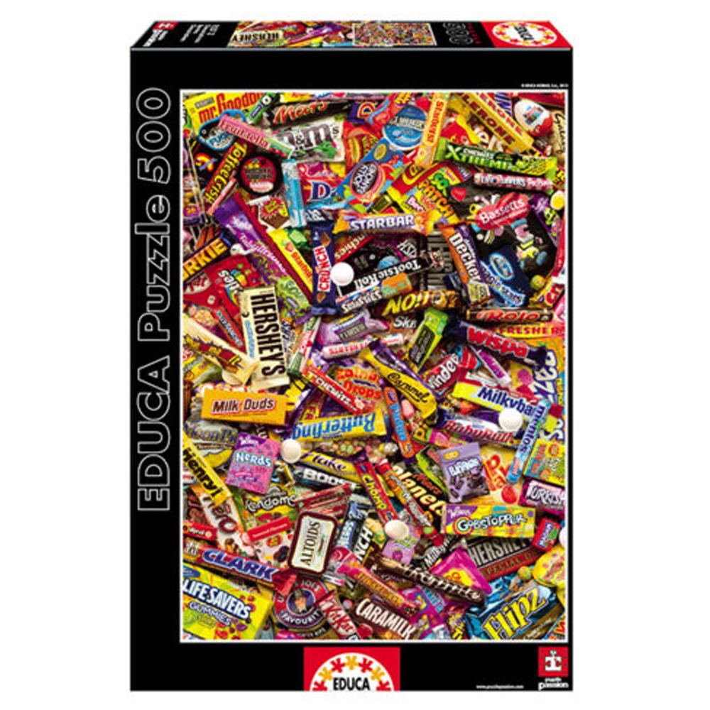Cuy Games - 500 PIEZAS - CHOCOLATINAS -